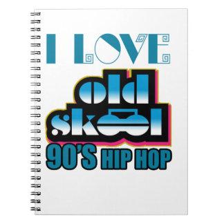 Cadernos Eu amo skoal velho