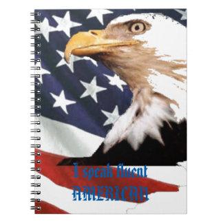 Cadernos Eu falo o AMERICANO fluente