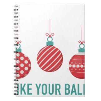 Cadernos Eu gosto de suas bolas