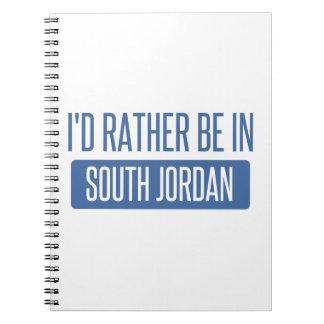 Cadernos Eu preferencialmente estaria em Jordão sul