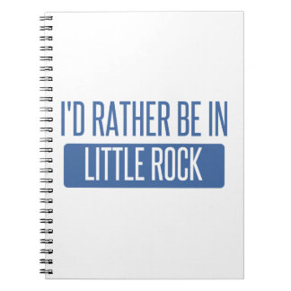 Cadernos Eu preferencialmente estaria em Little Rock