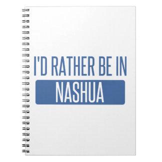 Cadernos Eu preferencialmente estaria em Nashua