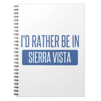Cadernos Eu preferencialmente estaria na serra Vista