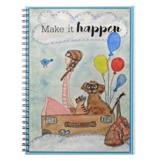 Cadernos Faça-o acontecer!