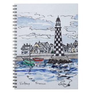Cadernos Farol de Perdrix, Loctudy   Brittany, France