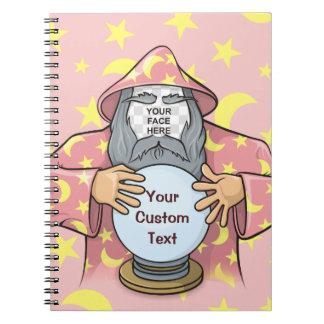 Cadernos Feiticeiro com sua cara