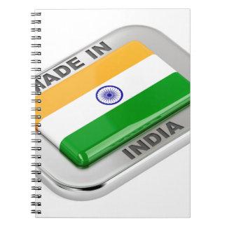 Cadernos Feito em India