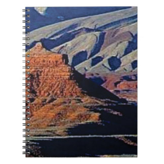 Cadernos formas naturais do deserto
