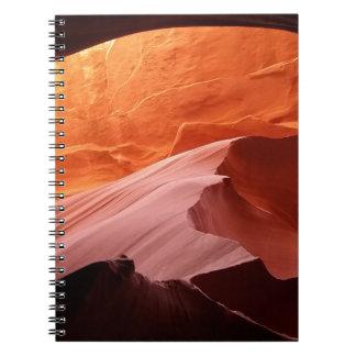 Cadernos Garganta do antílope