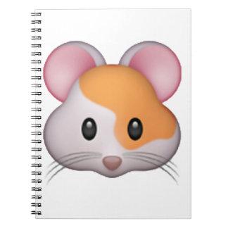 Cadernos Hamster - Emoji