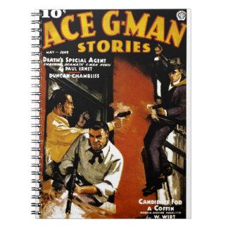 Cadernos Histórias do G-Man do ás