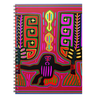 Cadernos Homem de San Blas Kuna com fãs