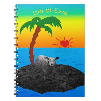 Cadernos Ilha da ovelha para essa que você ama