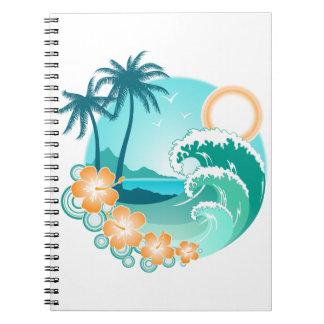 Cadernos Ilha havaiana 1