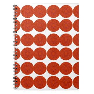 Cadernos Ilustração do design dos limões
