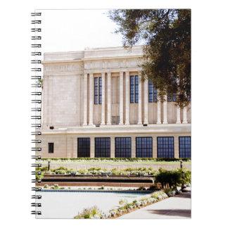 Cadernos imagem do templo da arizona do mesa do mormon dos