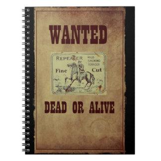 Cadernos Inoperante ou vivo querido