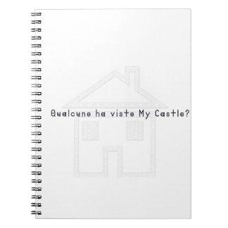 Cadernos Italiano-Castelo