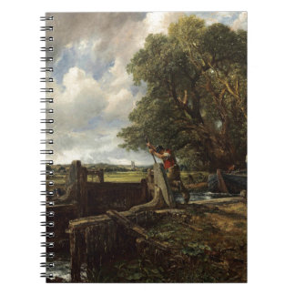 Cadernos John Constable - o fechamento - paisagem do campo