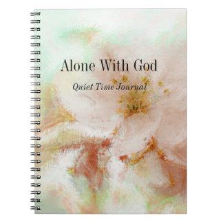 Cadernos Jornal pessoal - apenas com deus