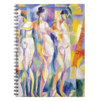 Cadernos La Ville de Paris por Robert Delaunay