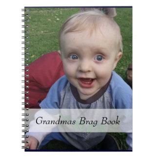 Cadernos Livro do Brag da foto das avós