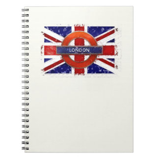 Cadernos Londres, Inglaterra, Great Britain Union Jack,