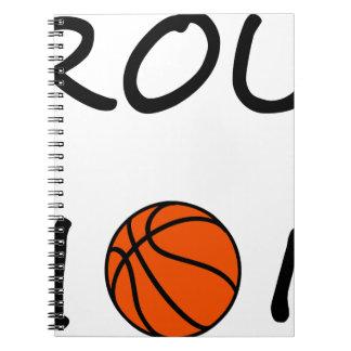 Cadernos Mamã do basquetebol