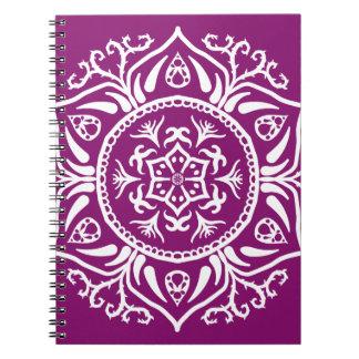 Cadernos Mandala da dália