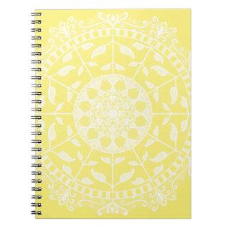 Cadernos Mandala da fruta de estrela