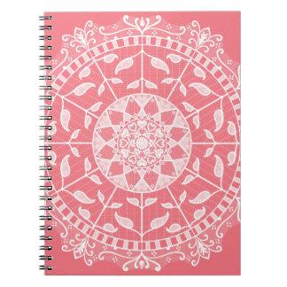 Cadernos Mandala do pêssego