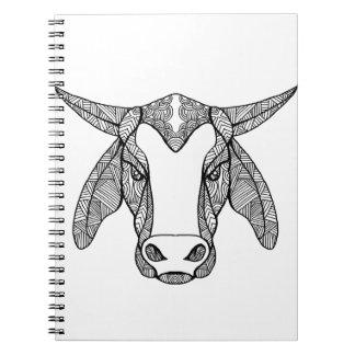 Cadernos Mandala principal de Brahma Bull