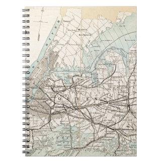 Cadernos Mapa dos reis, Queens, Long Island