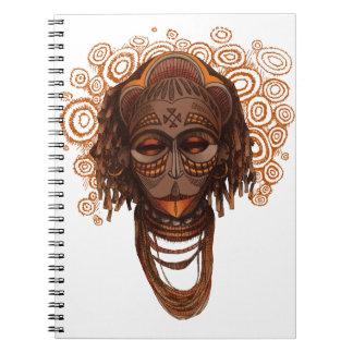 Cadernos Máscara africana
