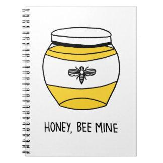 Cadernos Mel, mina da abelha