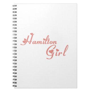 Cadernos Menina de Hamilton