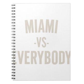 Cadernos Miami contra todos