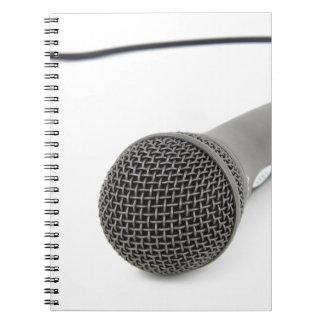 Cadernos Microfone - conversa a mim