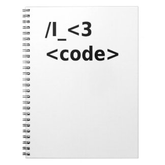 Cadernos Mim código <3