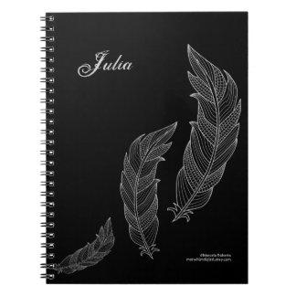 Cadernos Modelo conhecido preto cinzento do esboço da arte