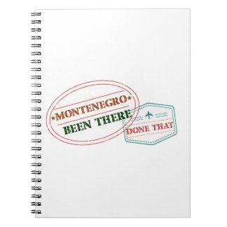 Cadernos Montenegro feito lá isso