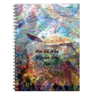 Cadernos Não todo o aqueles que vagueiam citações