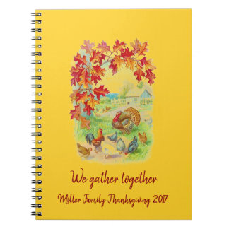 Cadernos Nós recolhemos junto: Acção de graças
