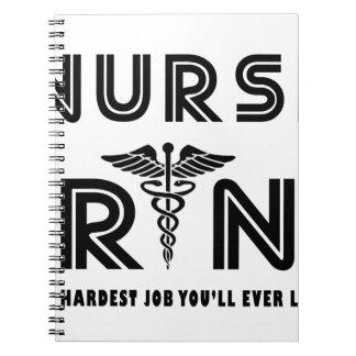 Cadernos Nutra o trabalho que o mais duro você terá nunca