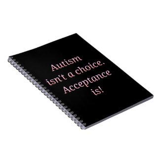 Cadernos O autismo não é uma escolha