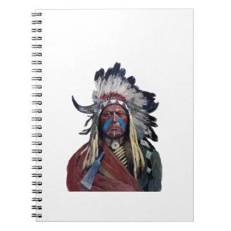 Cadernos O comandante