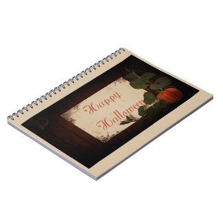 Cadernos O Dia das Bruxas feliz
