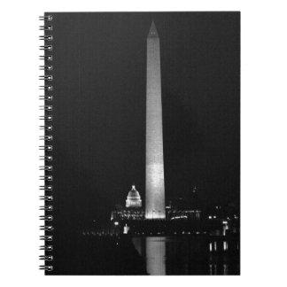 Cadernos O fulgor de 0031 Washington (noite B&W).JPG