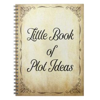 Cadernos O livro pequeno de ideias do lote