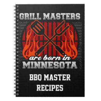 Cadernos O mestrado da grade é nascido em Minnesota